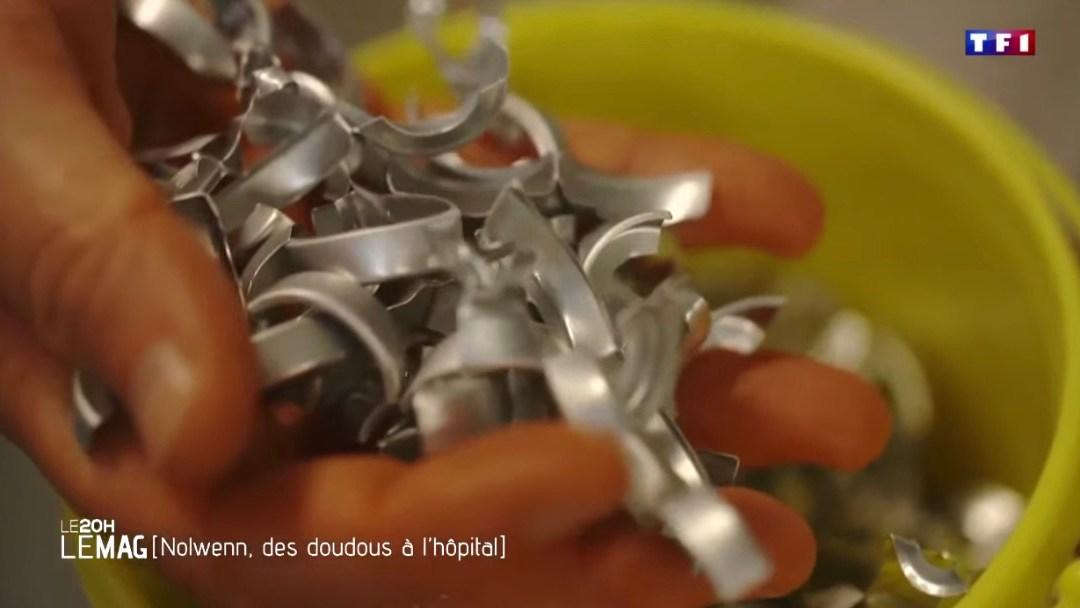 Les P'tits Doudous, TF1 Le 20  Le Mag