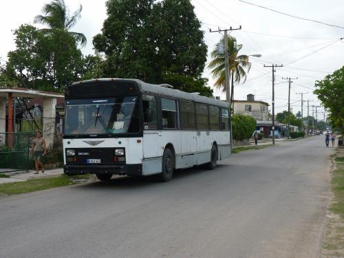 Van Hool A120 ex de Lijn à La Havane