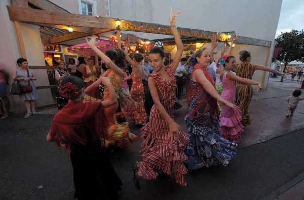 Arte flamenco 2015 Festival off les sévillanes de la pena la Estrella à la cantina de la chica 20150711_photo_NIC_6789