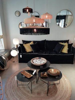 decoration, meuble, suspension