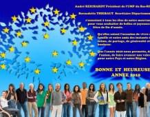 Voeux de la Fédération UMP du Bas-Rhin pour 2010