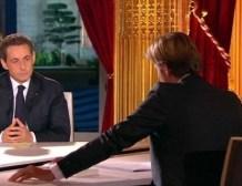 Vidéo de l'intervention télévisée de Nicolas SARKOZY