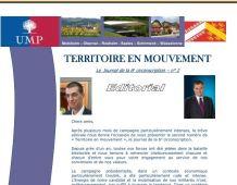 Territoire en Mouvement N°2, la lettre d'info de l'UMP de la Circo 6