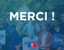 Elections européennes – Remerciements d'Anne SANDER