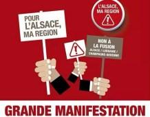 Grande Manifestation du 11 octobre 2014 : tous dans la rue pour la défense de l'Alsace !
