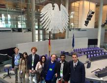 Les Jeunes Républicains du Bas-Rhin à Berlin