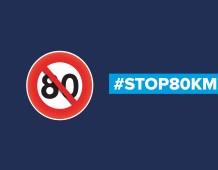 80 KM/H : STOP à l'acharnement contre les automobilistes !