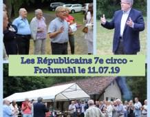 Rencontre des Républicains de la 7ème circonscription à Frohmuhl