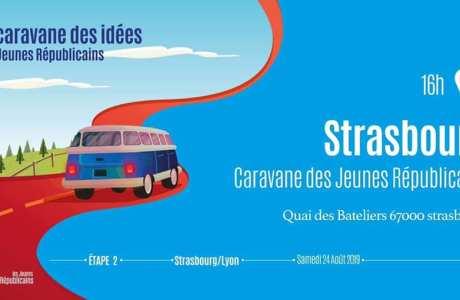 Cravane des Jeunes LR à Strasbourg le 24-08-19