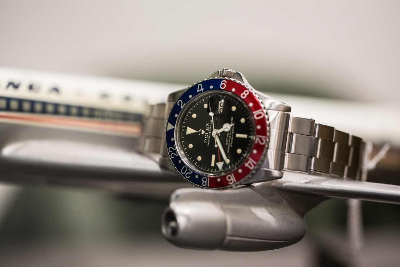 Rolex GMT Master 1675 - Oyster Riveté
