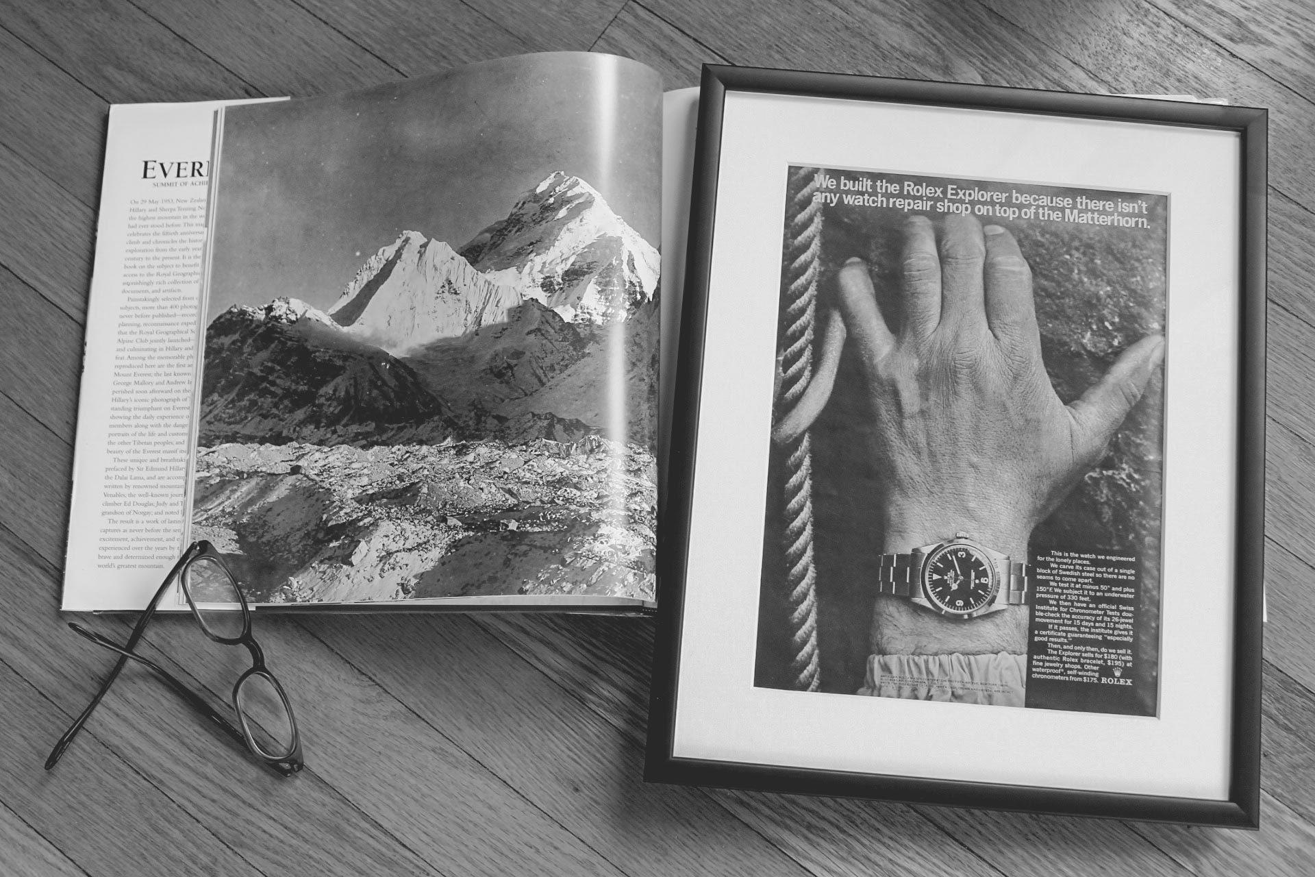 Marketing Horloger - Publicité ancienne Rolex Explorer