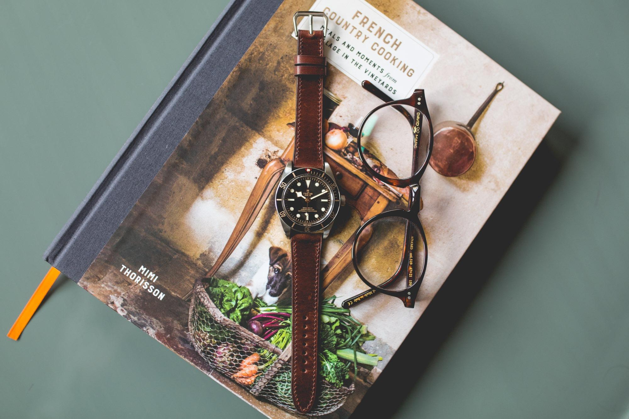 Bracelet cuir Marron - TUDOR Black Bay Fifty Eight