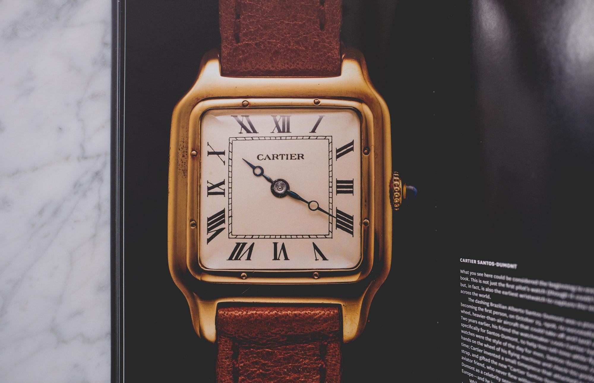 Santos de Cartier - A Man and His Watch