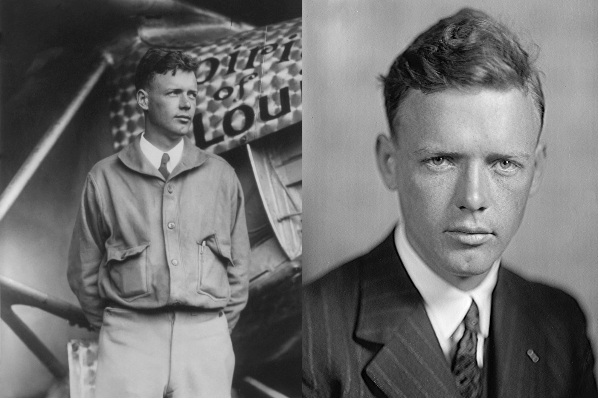 Charles Lindbergh - Blouson A1