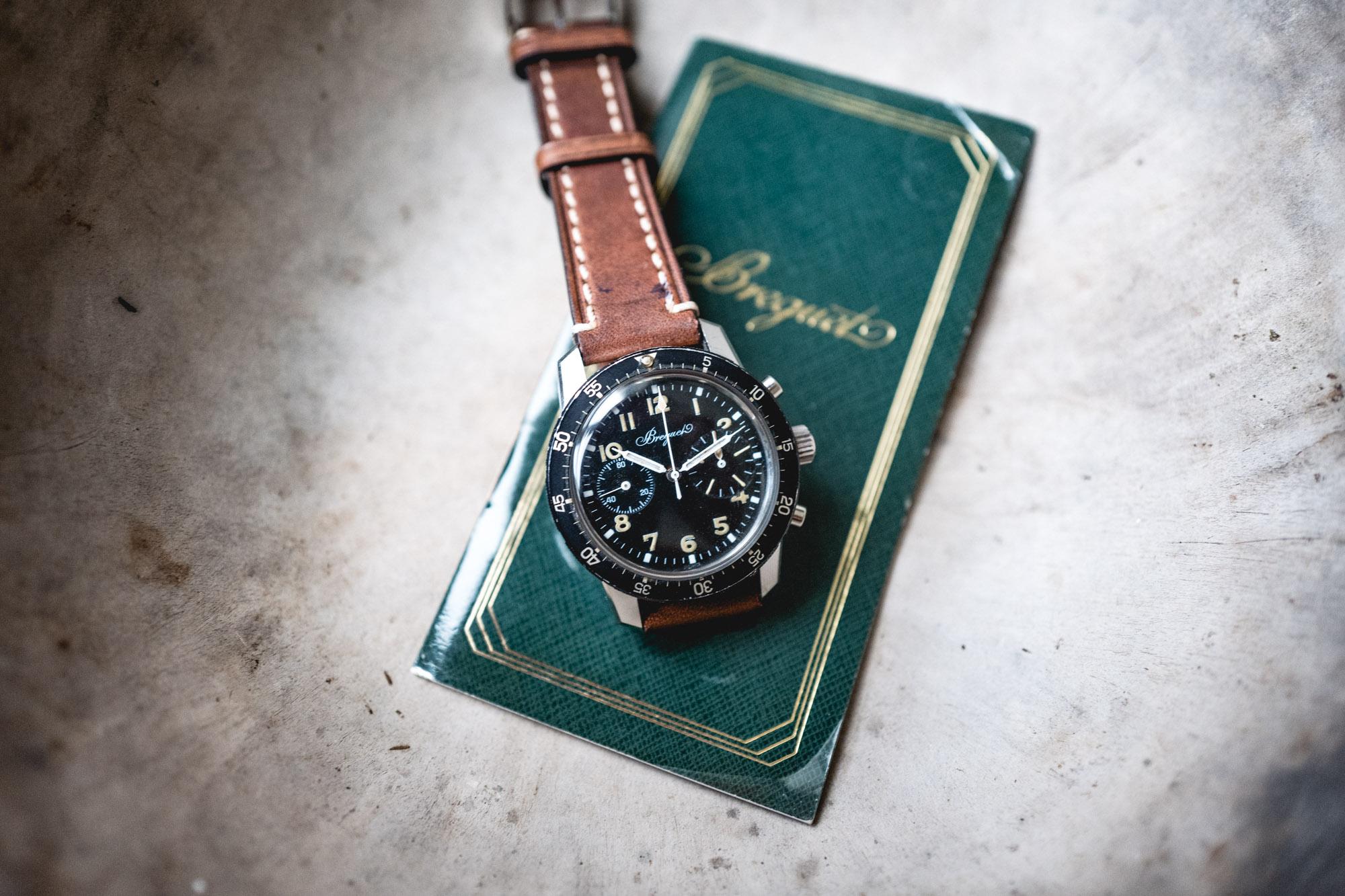 Tajan - Vente de montres du 11 décembre - Breguet Type XX vendue par Chaumet