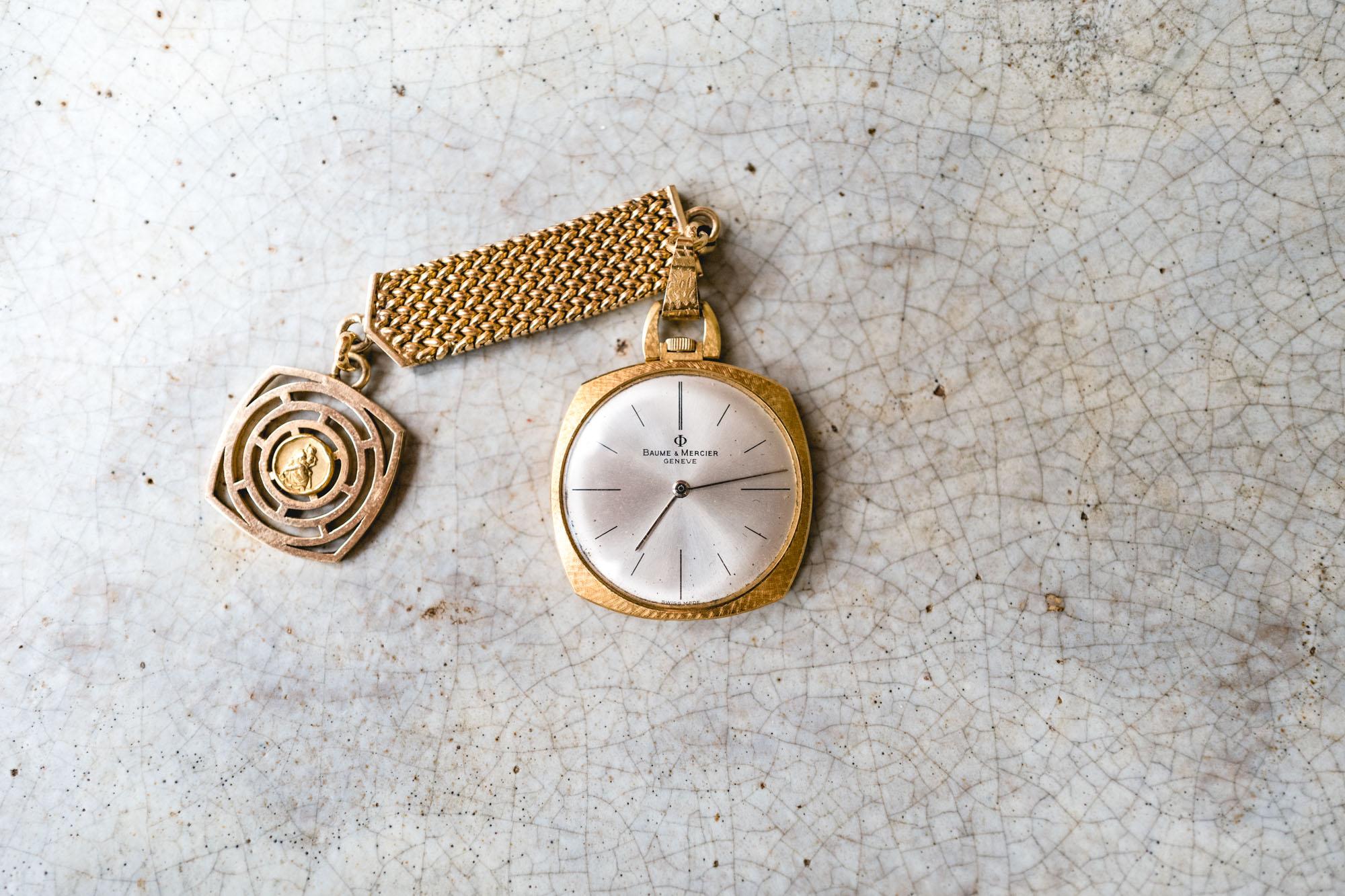 Tajan - Vente de montres du 11 décembre -Montre de smoking Baume et Mercier