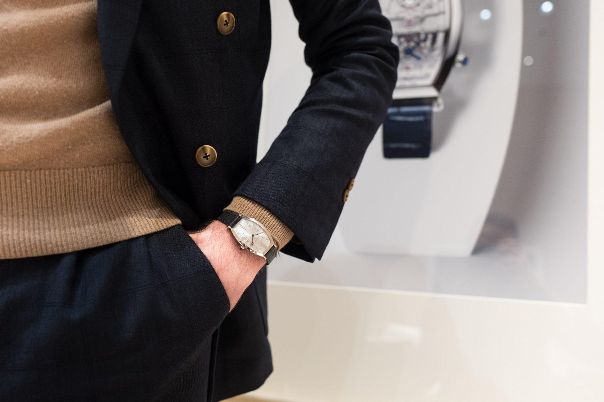 SIHH 2019 - Cartier Privé Tonneau