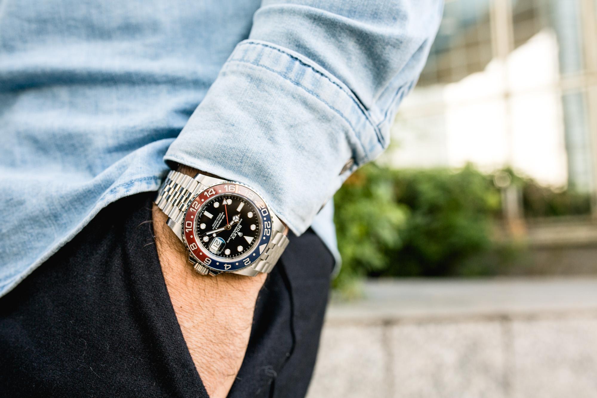 Rolex GMT-Master II Ref 126710BLRO - Look
