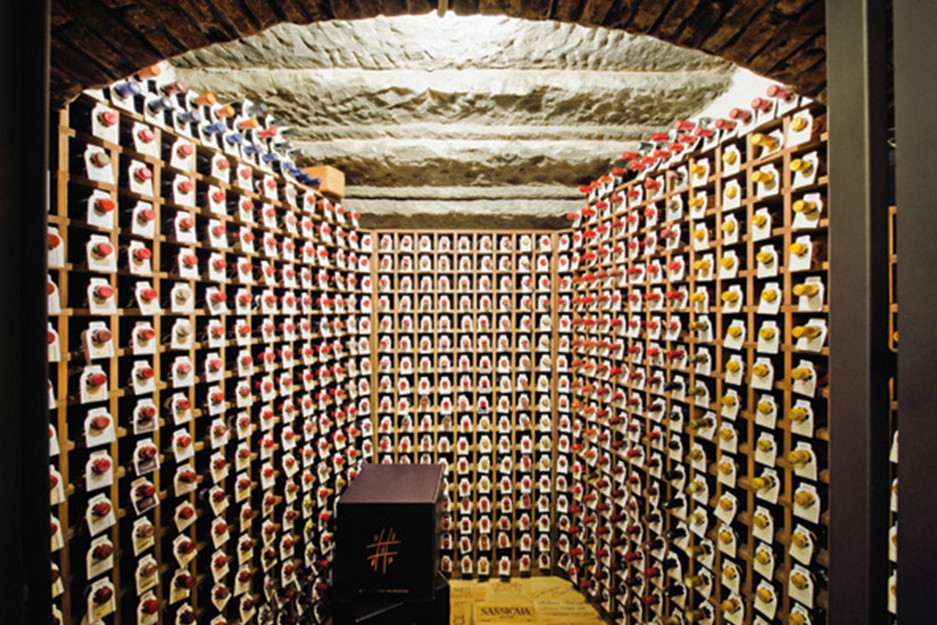 Cave de l'Enoteca Pinchiorri à Florence (Source : Firenze made in Tuscany)
