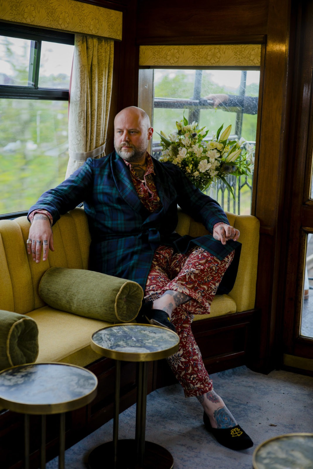The Belmond Royal Scotsman - Tony Sylvester