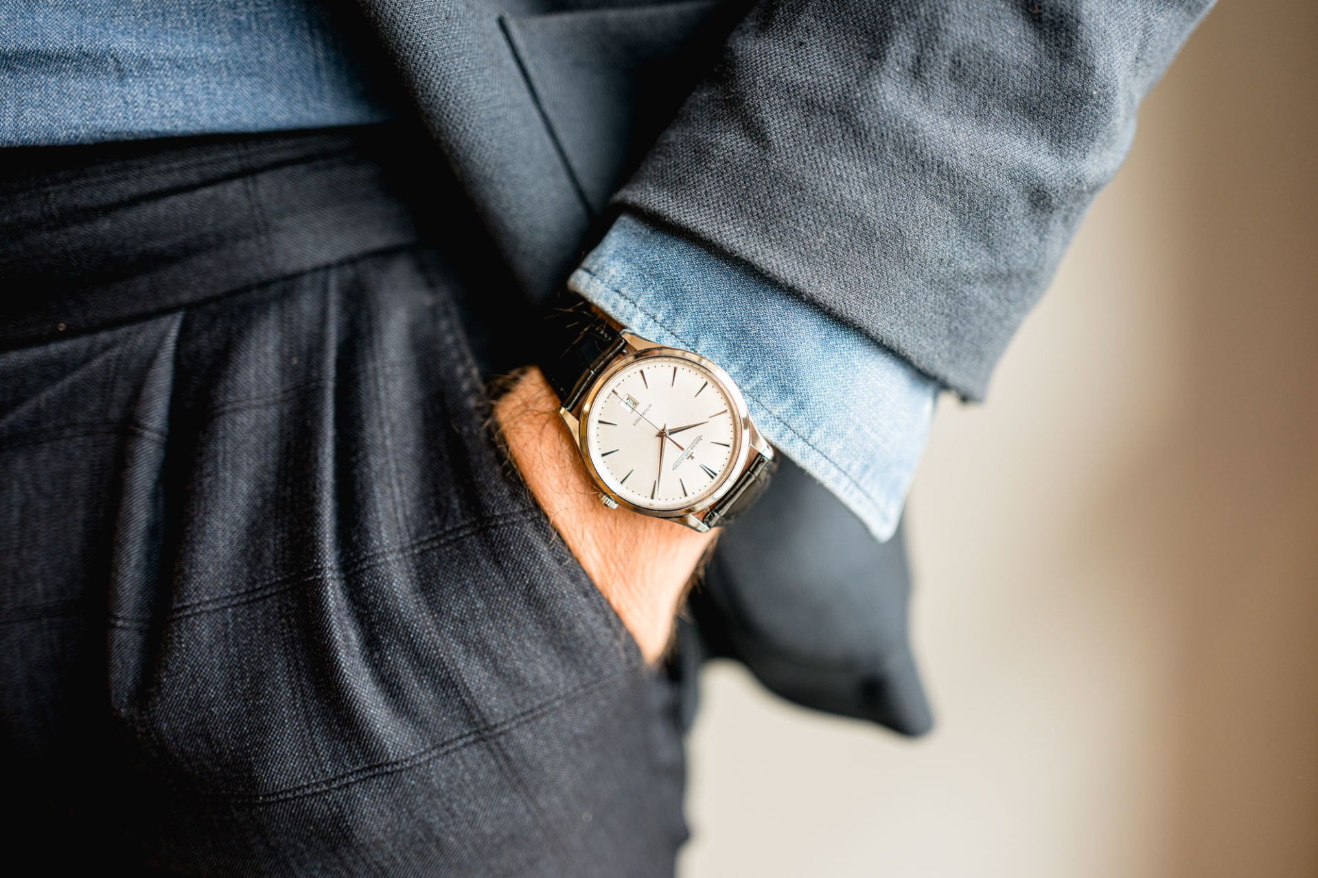 Jaeger-LeCoultre Master Ultra Thin Date - Style