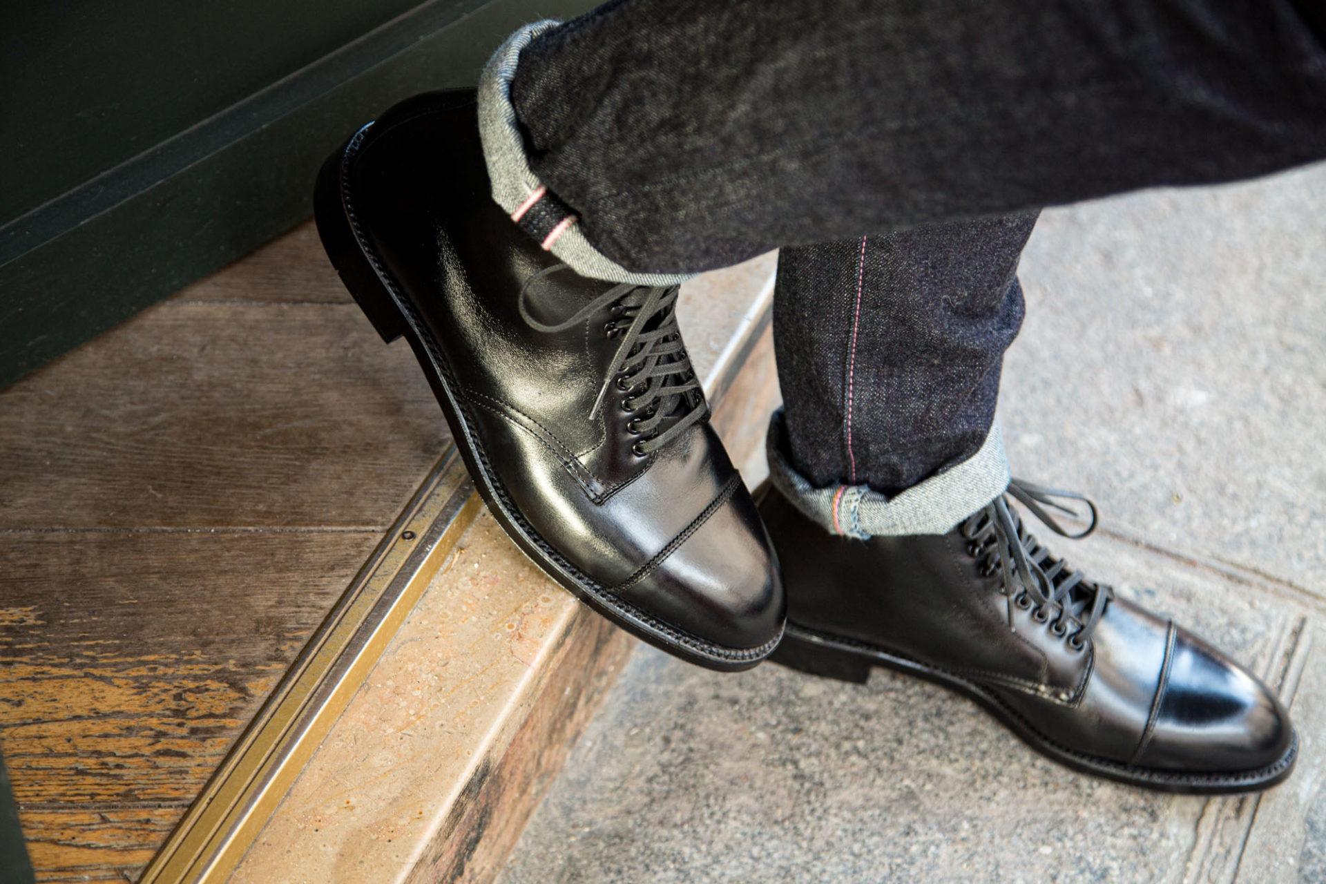 Alden Tip Boot 3917 - Cuir de veau