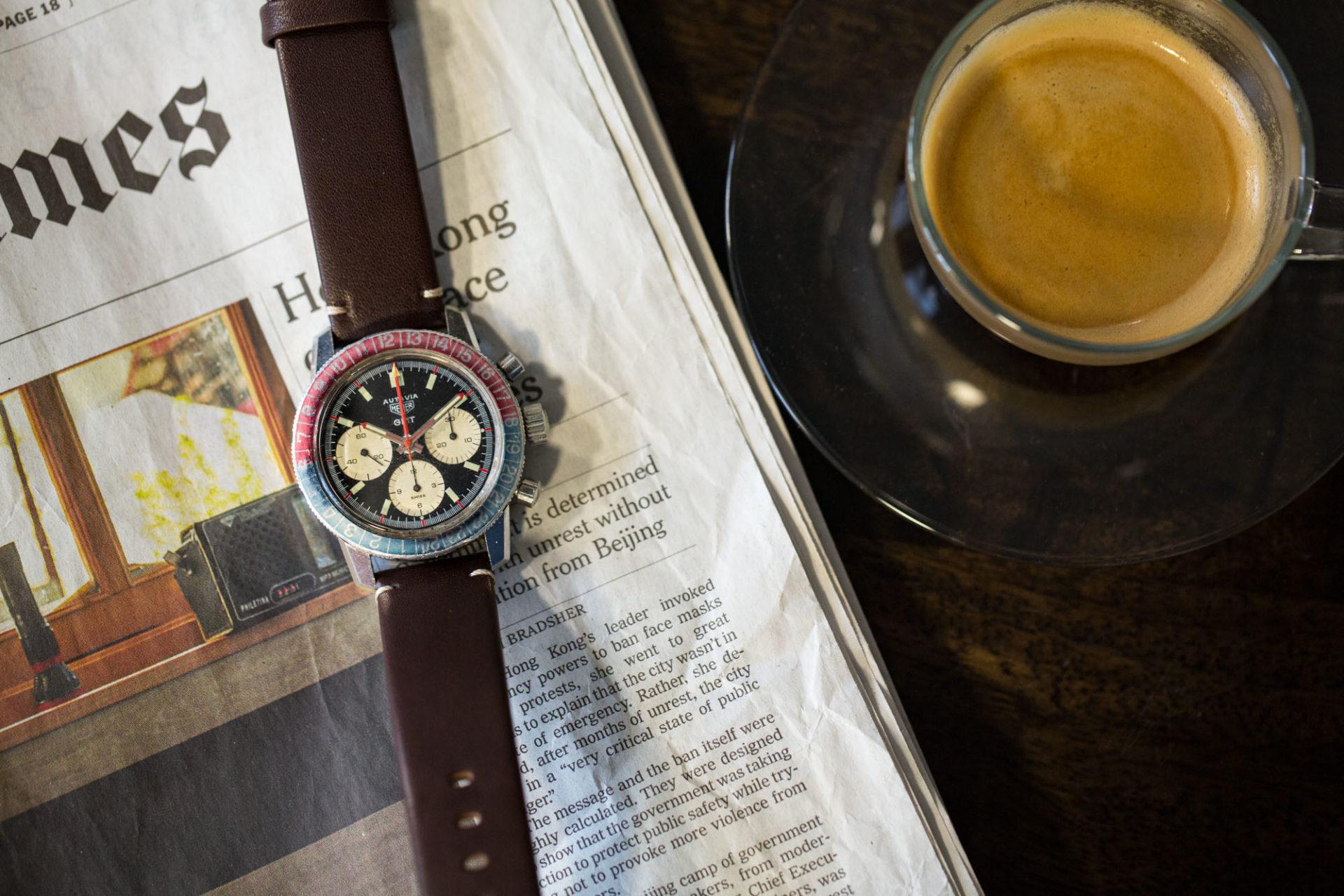 Heuer Autavia 2446C GMT - Watchfinder