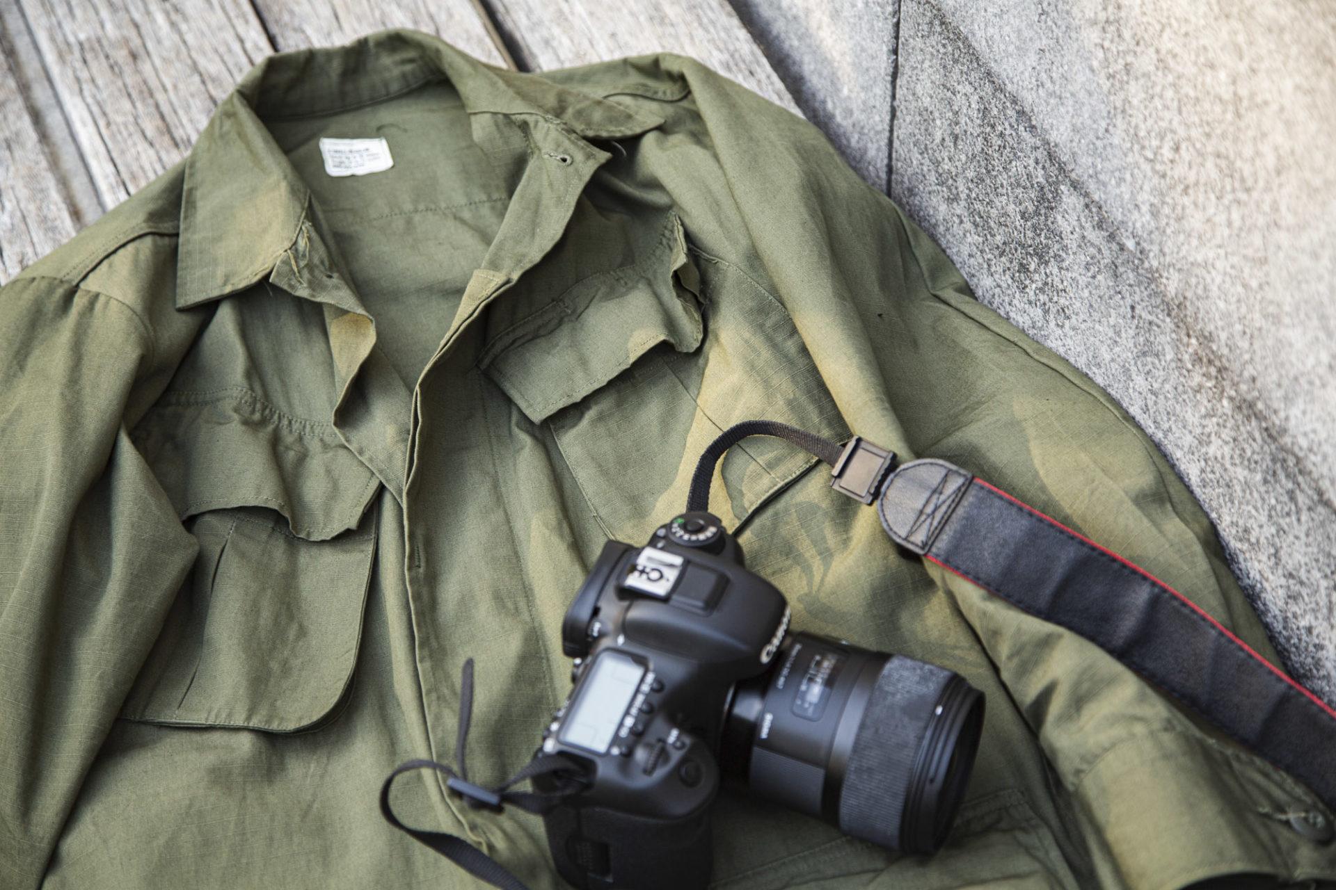 Jungle Shirt OG 107 - U.S Army - Vêtement militaire