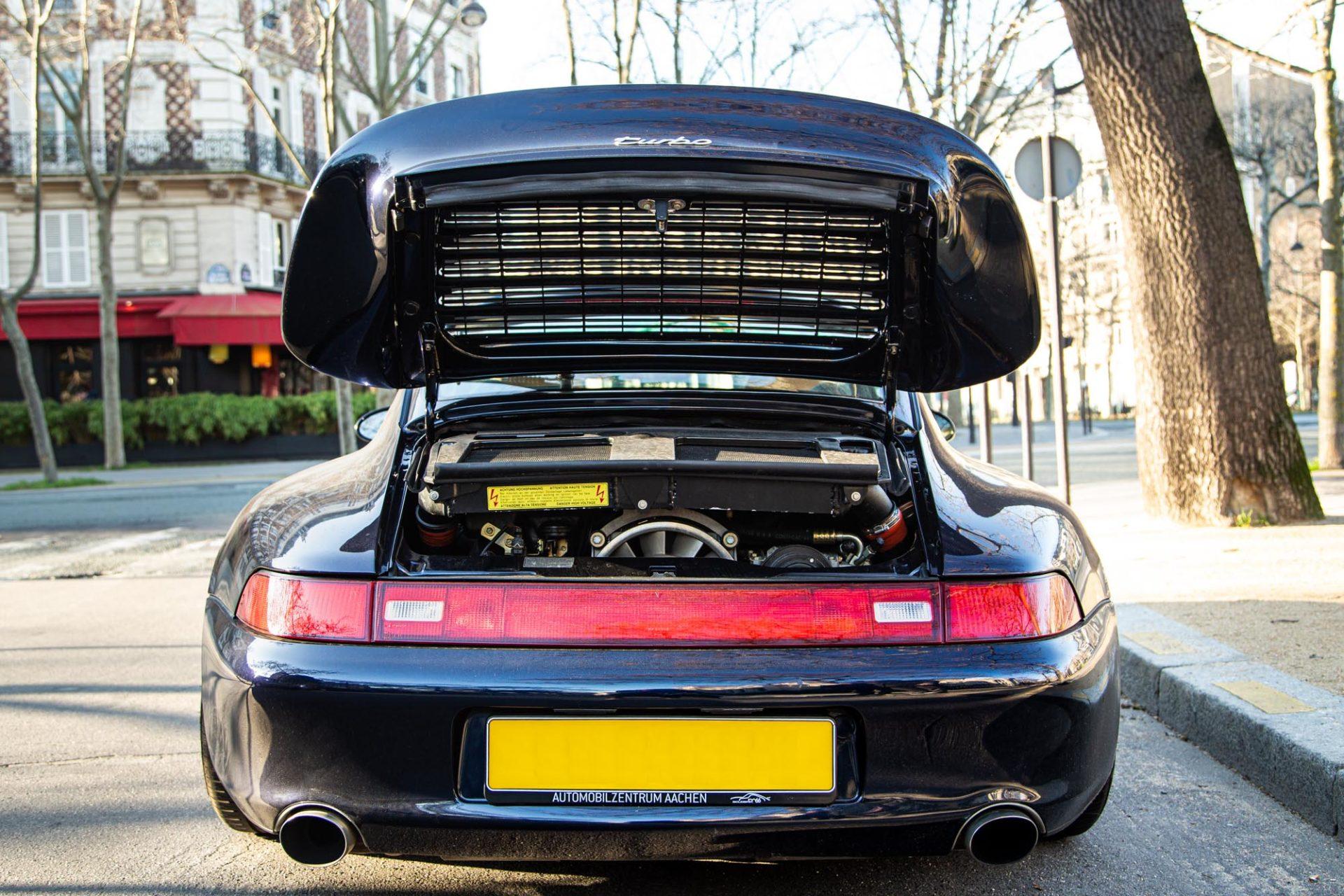 Porsche 911 Type 993 Turbo - Moteur