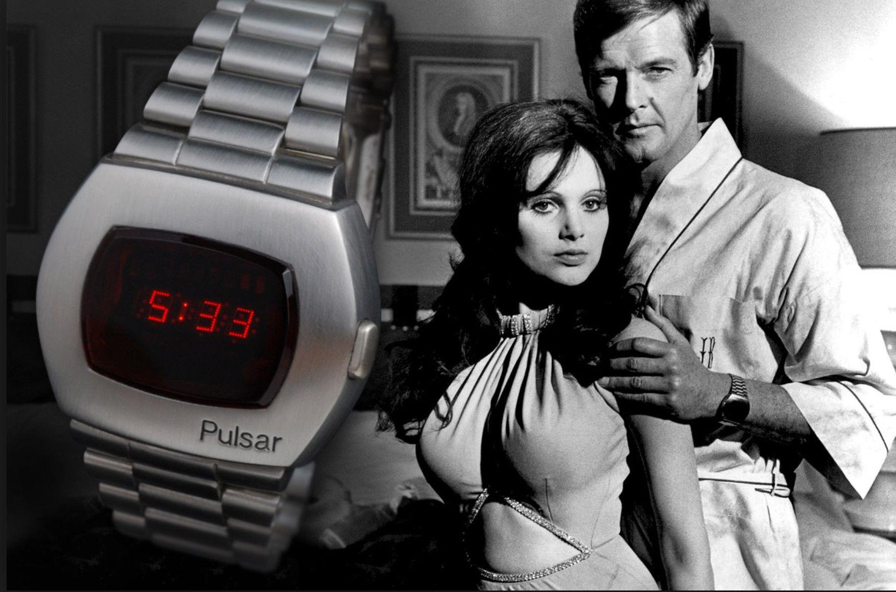 Pulsar James Bond Vivre ou laisser mourrir