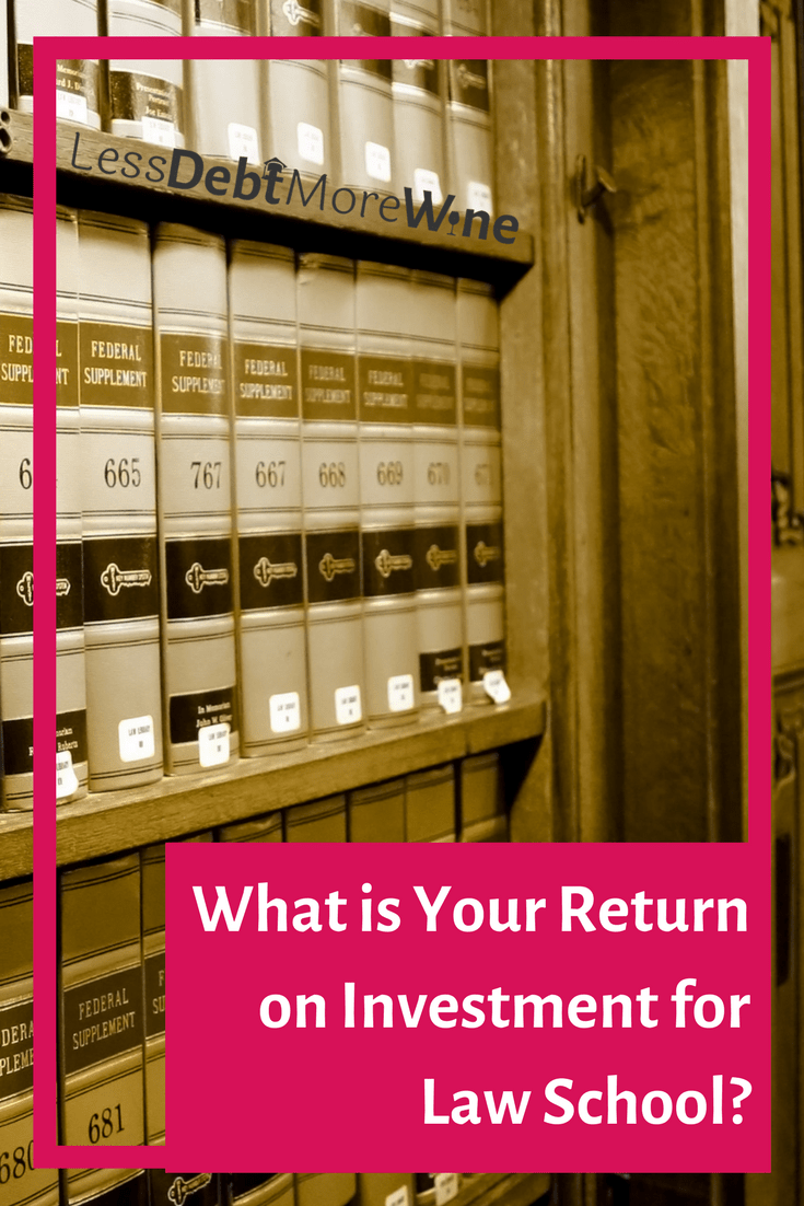 Education is supposed to be an investment in your future. However, with the high-cost, law school may not provide the best return on your investment.
