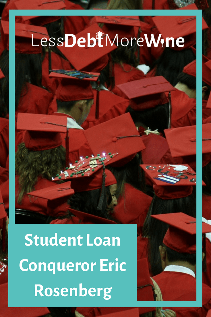 I'm excited to bring you another addition of the Student Loan Conquerors Series, this time featuring Eric Rosenberg from Personal Profitability