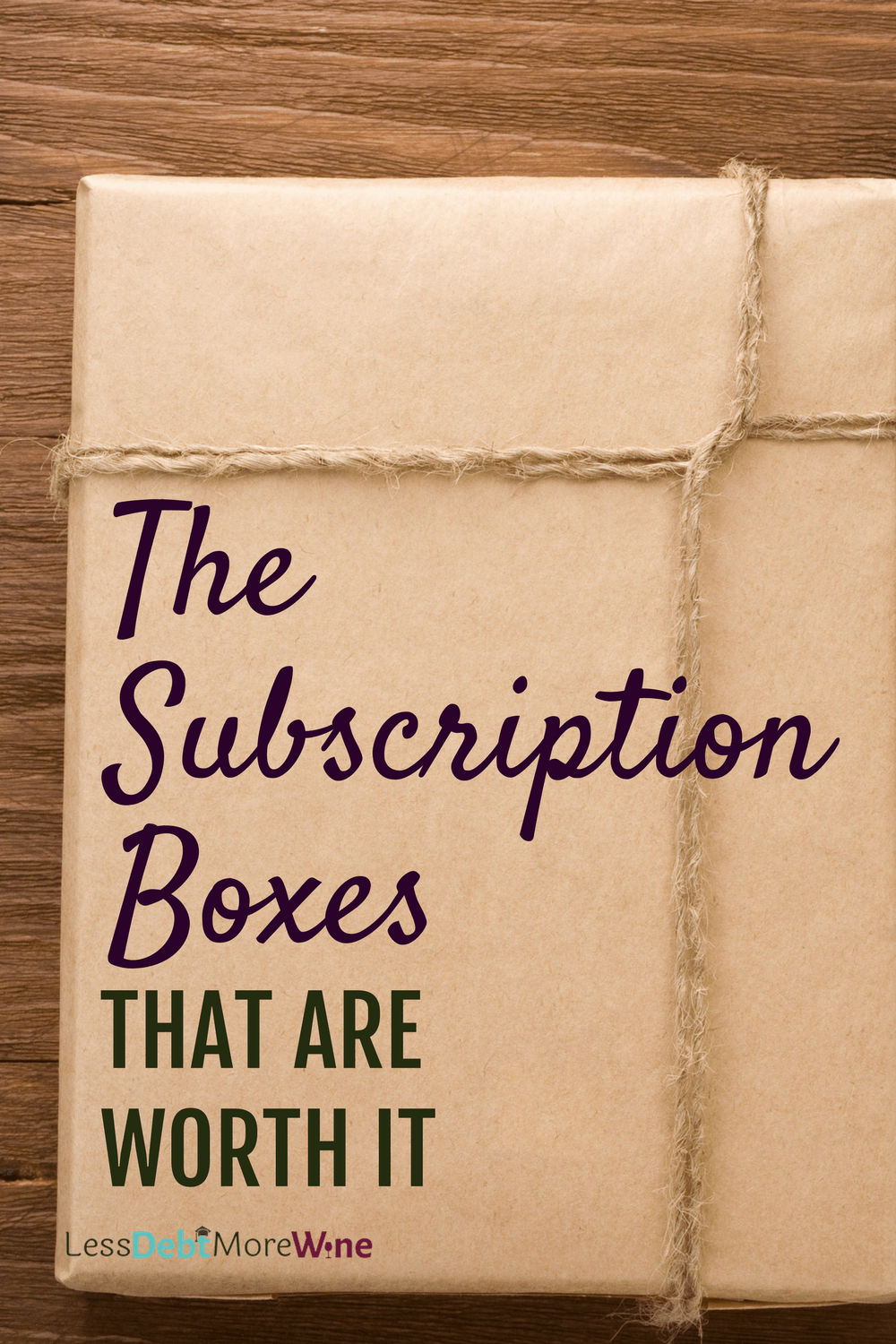 subscription boxes | save money | barkbox | blue apron | try the world | personal finance tips