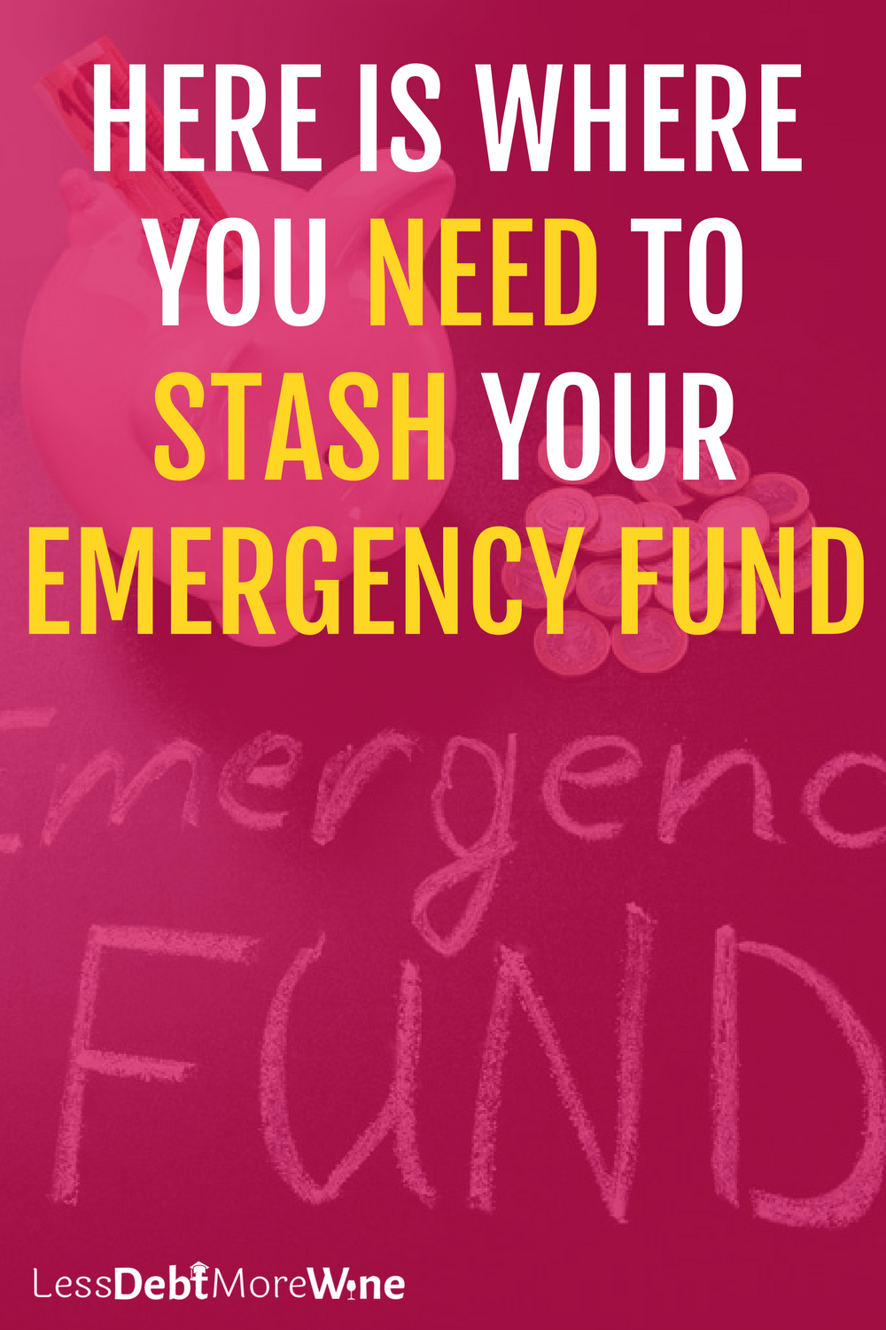 Here is Where You Need to Stash Your Emergency Fund   build savings   emergency fund   how to save money