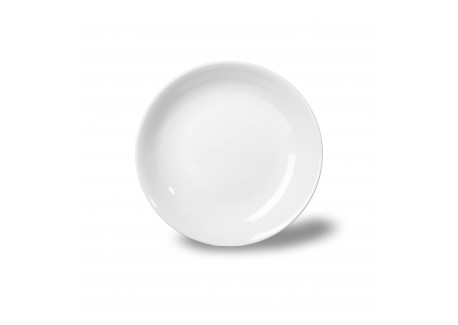 thun assiette creuse blanche 22 cm les secrets du chef