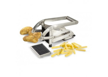 le tellier coupe frites inox 2 grilles les secrets du chef