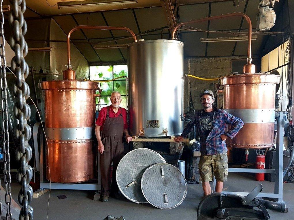 Alambic Distillation Huiles essentielles