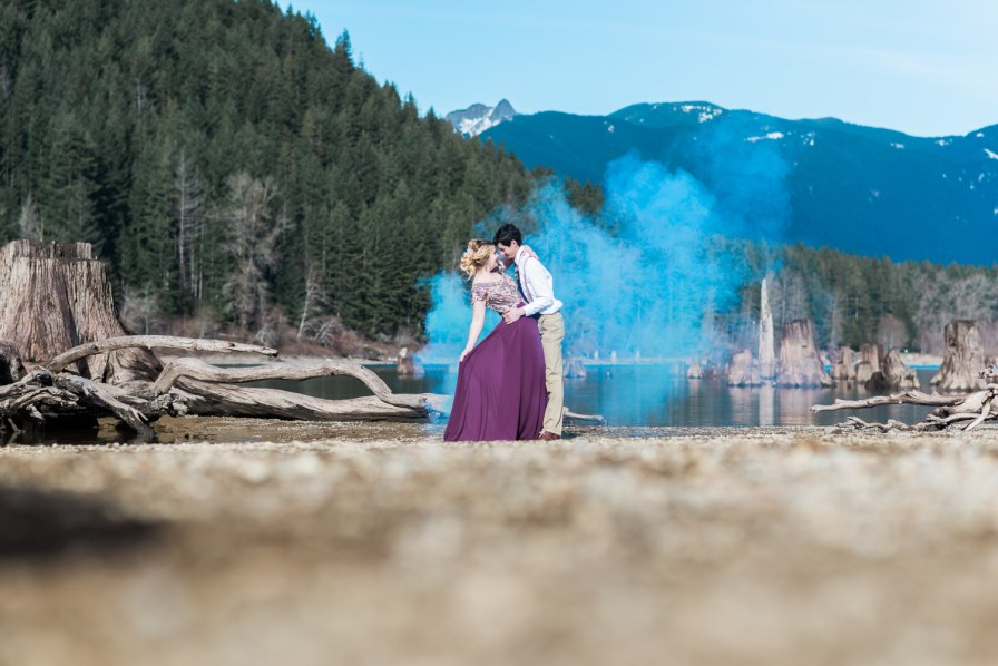 Rattlesnake Lake styled shoot