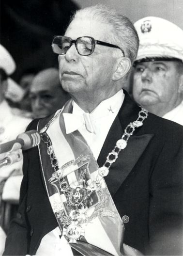 Joaquín Balaguer, former dictator of the Dominican Republic.