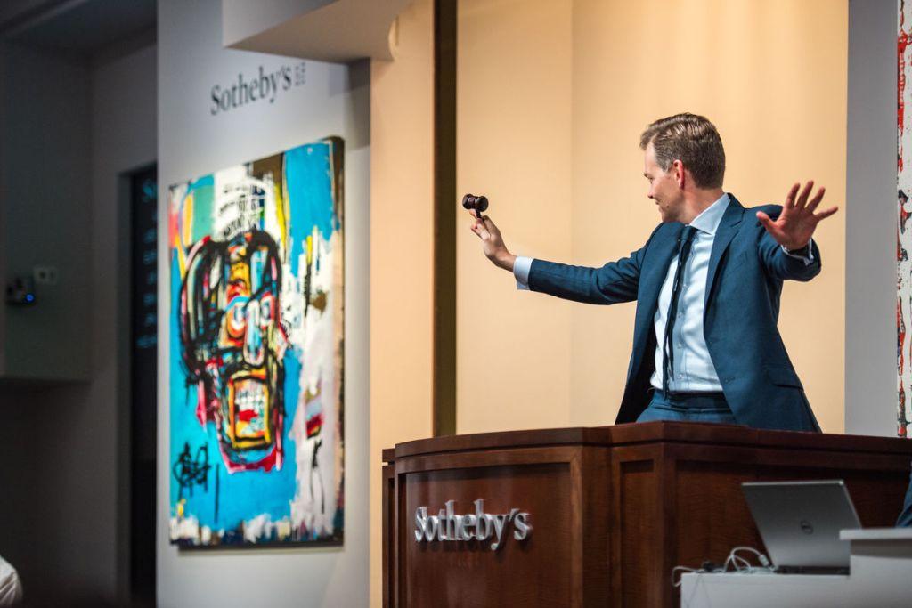 Sotheby's New York, Asta di arte contemporanea, 2017. Per gentile concessione di Sotheby's New York.