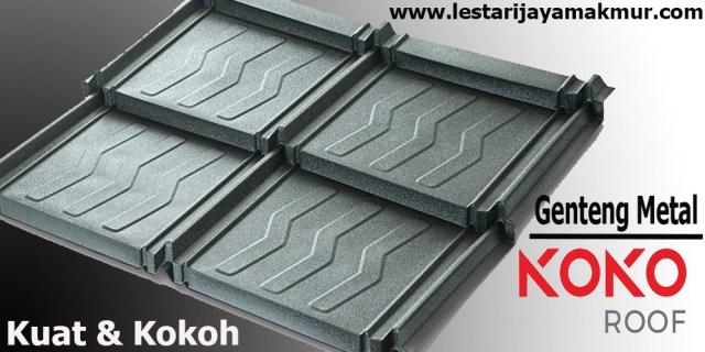 genteng metal koko roof
