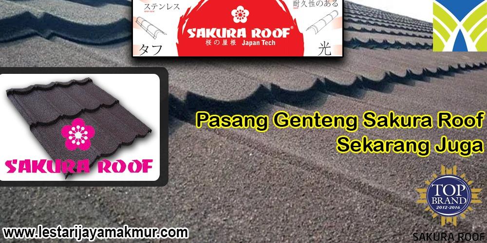 Jual Genteng Metal Sakura Roof
