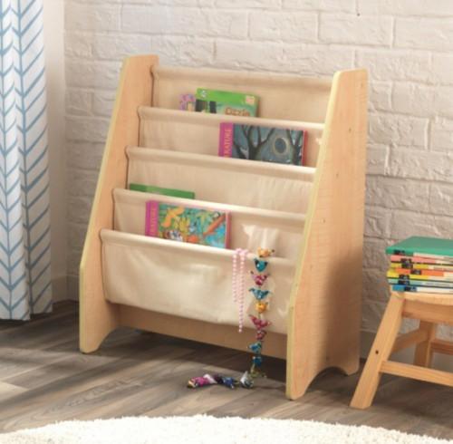https www lestendances fr 3424 bibliotheque bois naturel et tissu beige kidkraft 14221 html