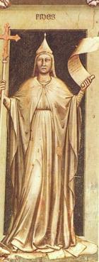 Giotto - La fede (Cappelle degli Scrovegni)