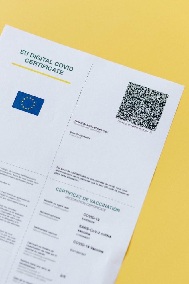 Certificato digitale di vaccinazione