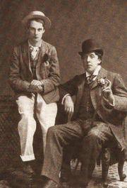 Oscar Wilde e Lord Alfred Douglas