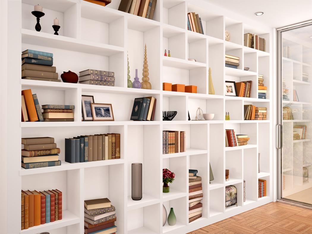comment amenager un mur en bibliotheque