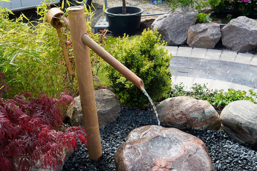 comment fabriquer sa propre fontaine bambou