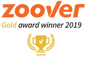 Zoover Award Gold 2019-2