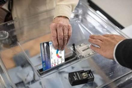Election européenne 2019 l'urne funéraire